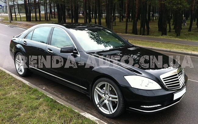 Аренда Mercedes S-Class W221 на свадьбу Чернигов