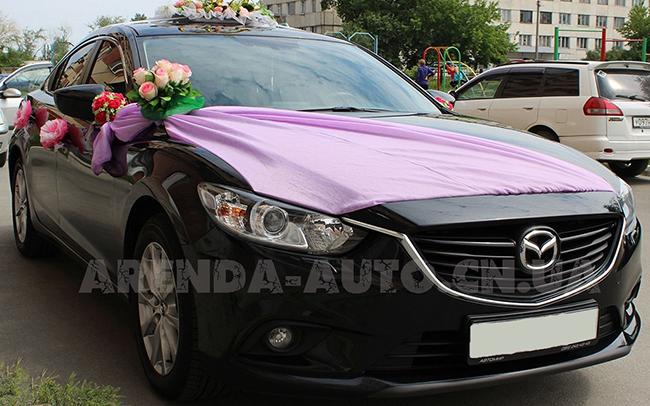 Аренда Mazda 6 New на свадьбу Чернигов