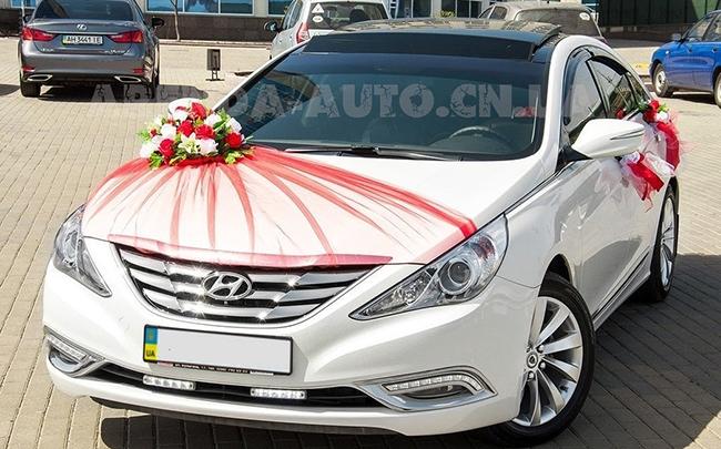 Аренда Hyundai Sonata на свадьбу Чернигов