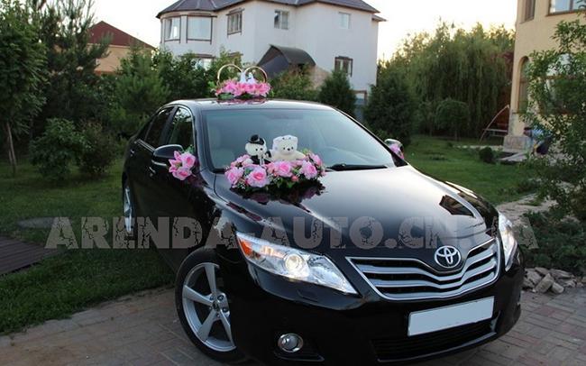 Аренда Toyota Camry 40 на свадьбу Чернигов