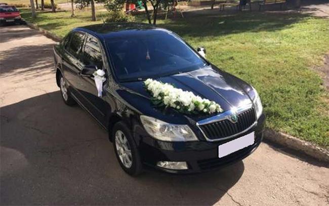 Аренда Skoda Octavia A5 на свадьбу Чернигов