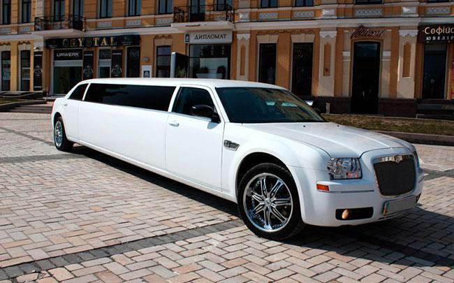 Аренда Лимузин Chrysler 300C на свадьбу Чернигов