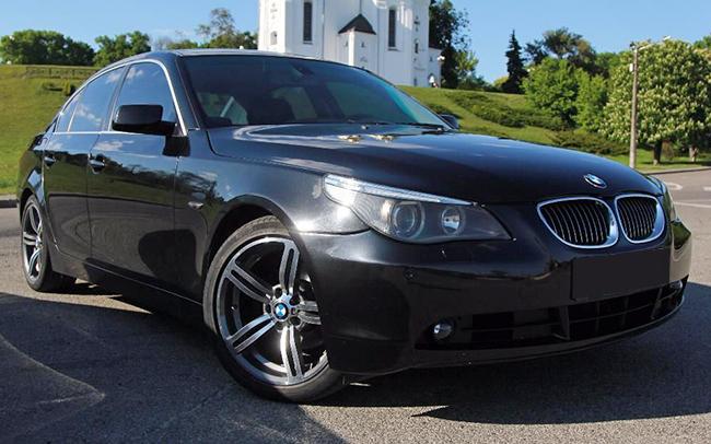 Аренда BMW 5 E60 на свадьбу Чернигов