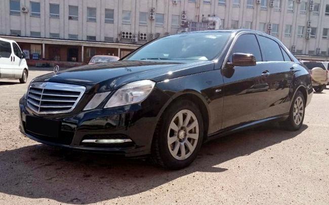 Аренда Mercedes E-Class W212 на свадьбу Чернигов