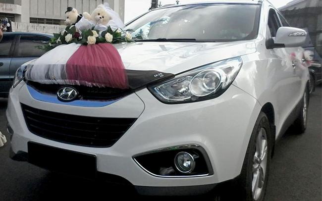 Аренда Hyundai ix35 на свадьбу Чернигов
