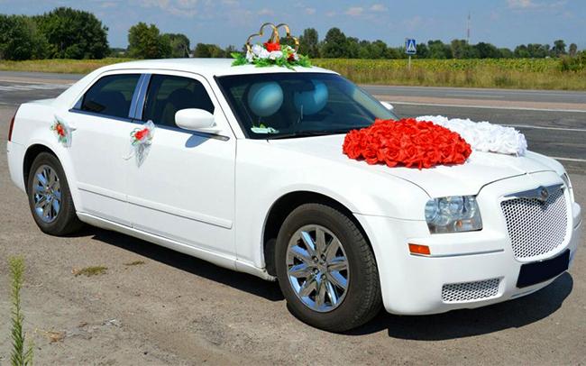 Аренда Chrysler 300C на свадьбу Чернигов