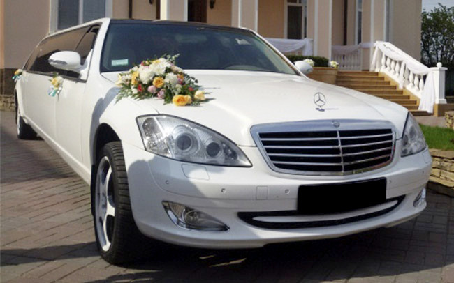 Аренда Лимузин Mercedes S-Class на свадьбу Чернигов
