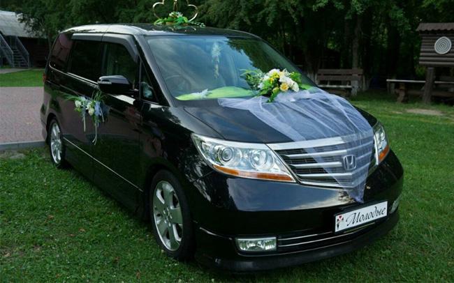 Аренда Honda Elysion Prestige на свадьбу Чернигов